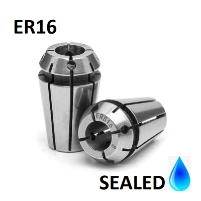 10.0mm ER16 SEALED Standard Accuracy Collets (10 micron)