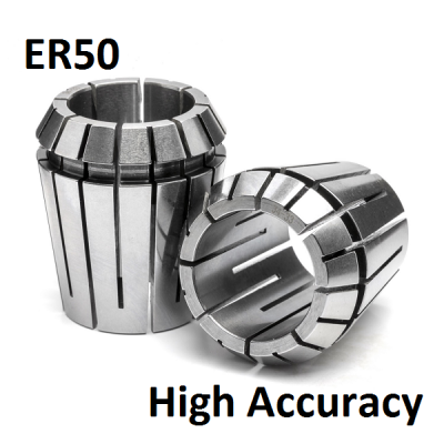 12.0mm - 10.0mm ER50 High Accuracy Collets (5 micron)